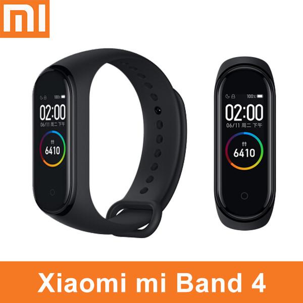 Оригинальный Xiaomi Mi Band 4 3 Смарт-браслет часы браслет Miband OLED сенсорная панель монитор сердечного ритма фитнес-трекер