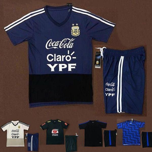 2019 2020 الأرجنتين بدلة تدريب كرة القدم قبل المباراة 19 20 ميسي لكرة القدم رياضية Dybala دي ماريا كون Aguero survetement مايوه كيت