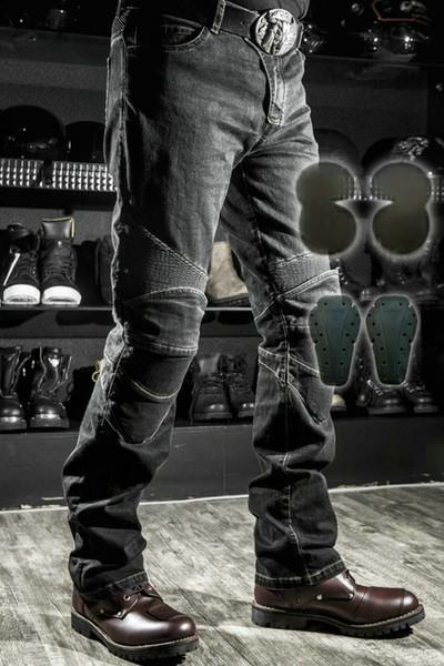 black pants black pads