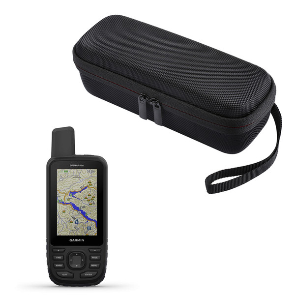 Portable Carrying Protect Pouch Protect Case for Garmin GPSMap 62 64 62st 64st 63 63sc 63st 66s 66st Accessories