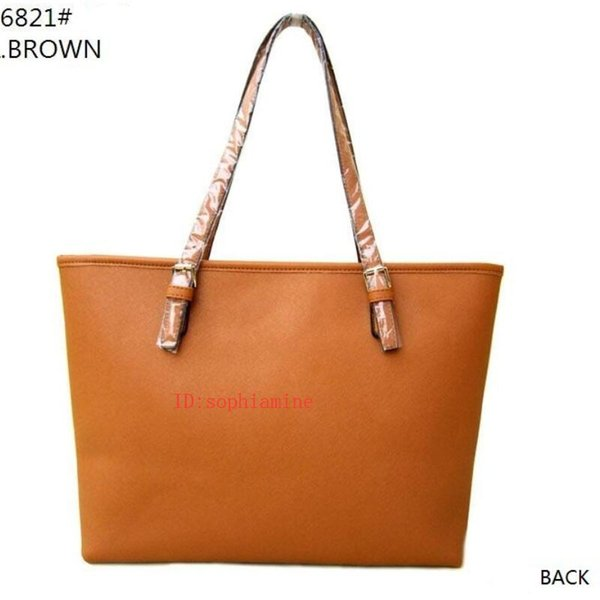 Heißer verkauf dame designer handtaschen mode geldbörse frauen taschen jet set reise pu leder handtaschen damen schulter tote weiblich 6821