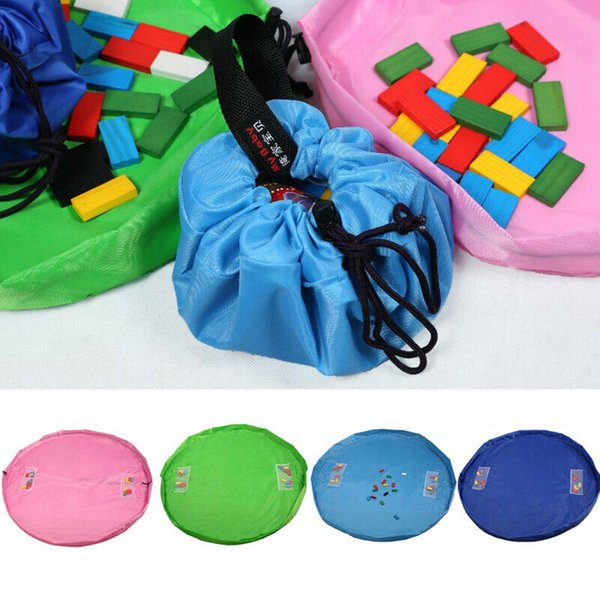 2019 Newest Hot Unisex Baby Toys Storage Drawstring Bags Strap Bag Portable Play outdoors Mat Organizer Kids Toy Drawstring Bags