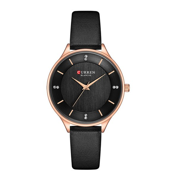 CURREN9041 New Type Fashion Women's Watches with Hot Sale Alloys Ultra-thin Waterproof Quartz Watch with Leisure Belt