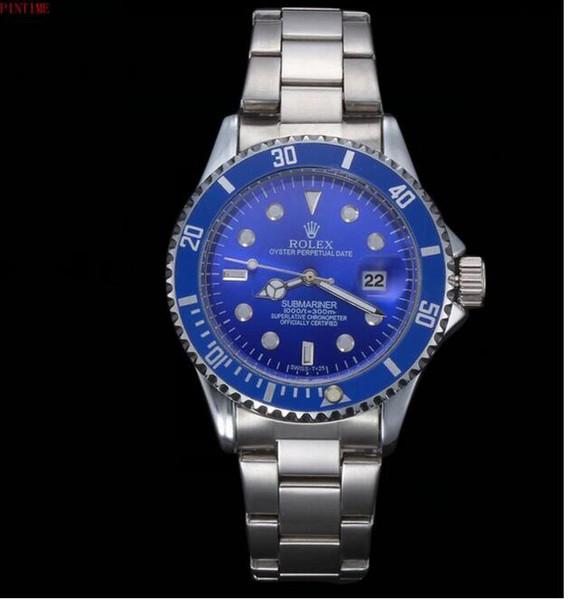La calidad de los relojes de diseño de diamantes nuevos productos de marca de moda de lujo en hombres y mujeres fecha nuevo reloj de acero relojes de cuarzo para hombres
