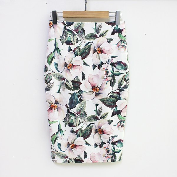 women skirts pencil skirt arrival club new floral high waist vintage bodycon mini skirt women black skirt