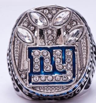 Hot nouvelle bague de championnat style 2011 New York Giants mode pour la fête des pères souvenir de cadeau