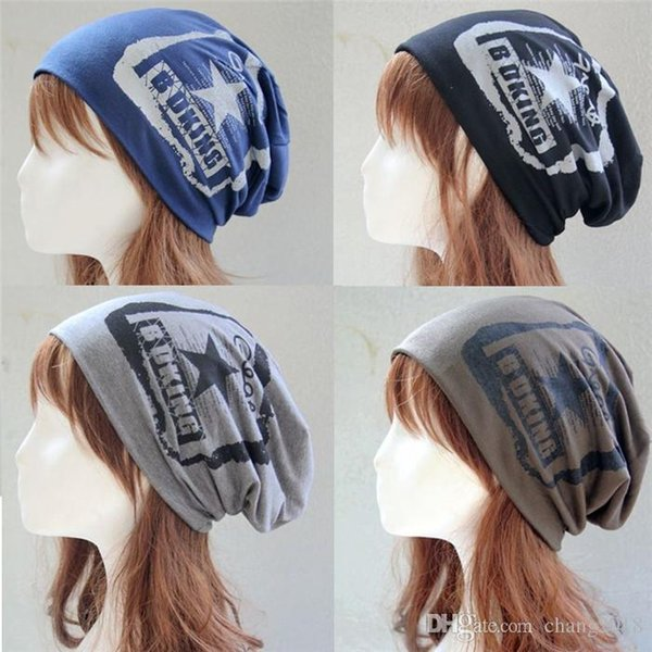 2018 Unisex Ponytail Beanie Hat Knitted Hat Knitted Hat and Scarf Fashion Baotou Cap Beanies for Men Winter Hats for Women fg003