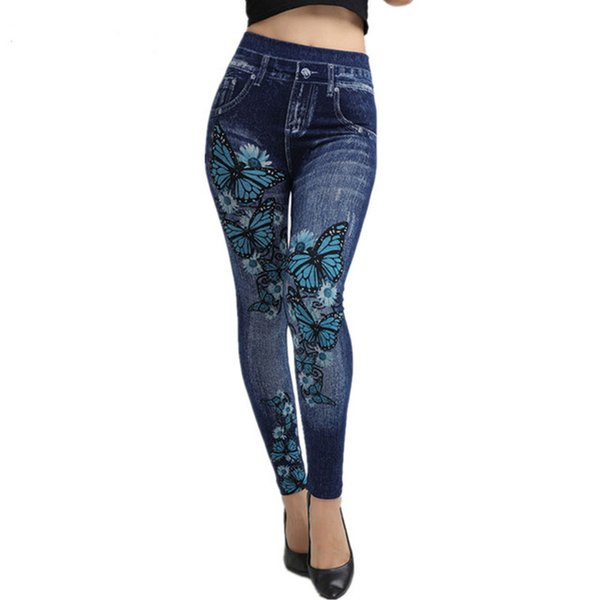 Jeans Women 2019 New Fashion High Waist Jeans Plus Size Street Style Sexy Pencil Pants for Women Clubwear