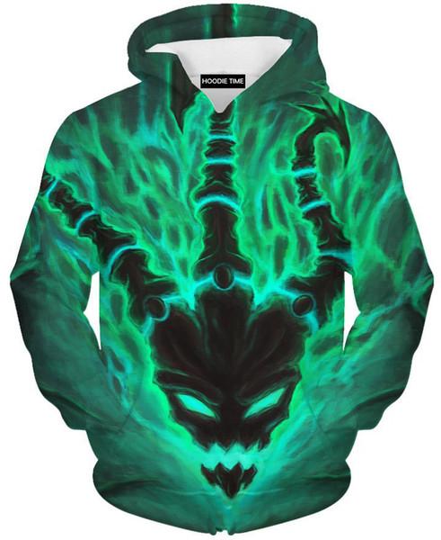 camisola de manga designer de luxo hoodie sweater 3D impressão tendência de moda do hoodie de fitness sporter ocasional inverno jaqueta de algodão superior longa