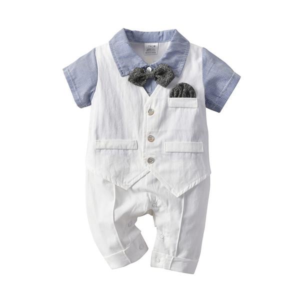 Großhandel Baby Infantil Strampler Junge 2019 Sommer Geburtstag Taufe Hochzeit Kleidung Mode Hohe Qualität Kinder Kind Sommer Outfits Von Paradise02