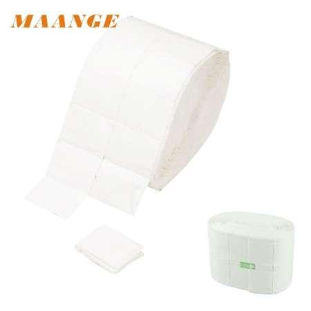GRAECFUL - 500 Lint Free Each Roll Nail Wipes Cotton Pad Gel Acrylic Nail Polish Remover Removal wraps pp33-23