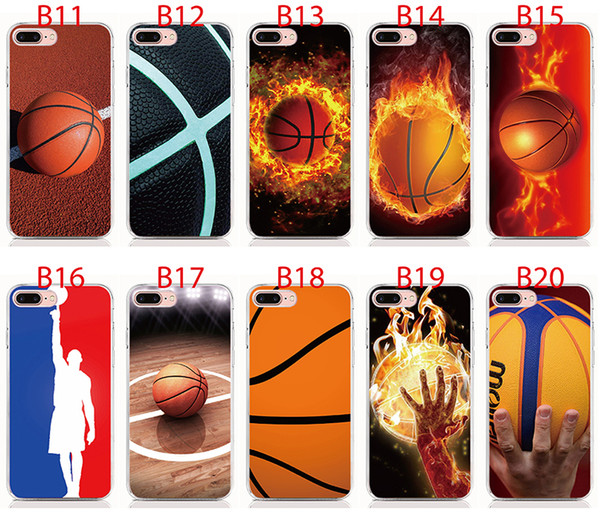 For Samsung 2018 series 2018 J8 J7 J6 Plus J4 J3 J2 Pro A9 A8 A7 A6 Plus A6S Soft TPU Print pattern Basketball style High quality phone case