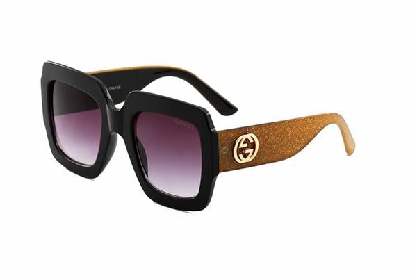 logo sunglasses attitude sunglasses gold frame square metal frame vintage style outdoor design classical model top quality