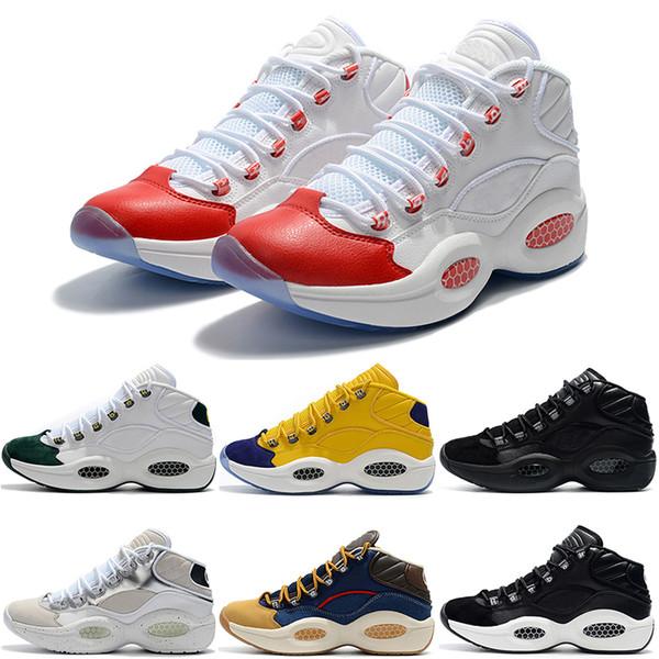 Turnschuhe Von Frage 2019 Schuhe Großhandel Classic Zapatillas Männer Herren Gute Mann Neue Designer Allen 7 11 Basketball 1 Trainer Größe f7Ybyv6g