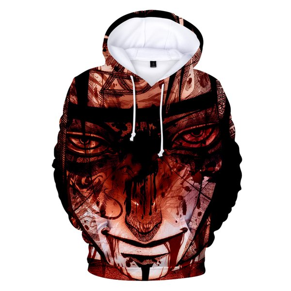 2019 Fashion new 3d Naruto Hoodies Men/women Autumn Hip Hop High Quality 3d Print Men's Hoodies And Sweatshirt Naruto Clothe