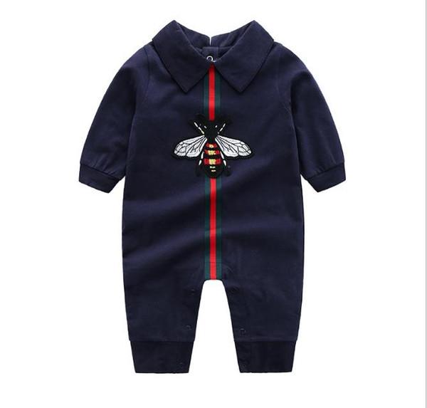 Tutina per bebè Tute Tute Neonate Abbigliamento per bambini Abiti per bambini Vestiti per neonato Vestiti a maniche lunghe in cotone Pagliaccetto 0-24CM
