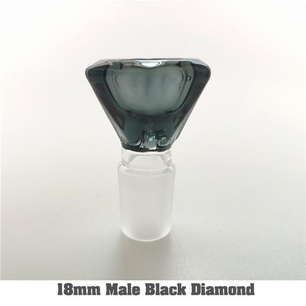 18 mm Macho Negro Diamante