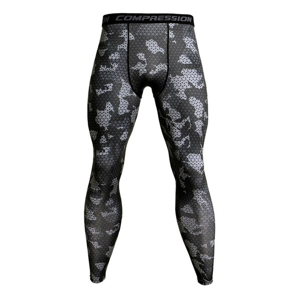 Camouflage Compression Pants Running Tights Men Soccer Training Pants Fitness Sport Leggings Men Gym Jogging Trousers Sportswear