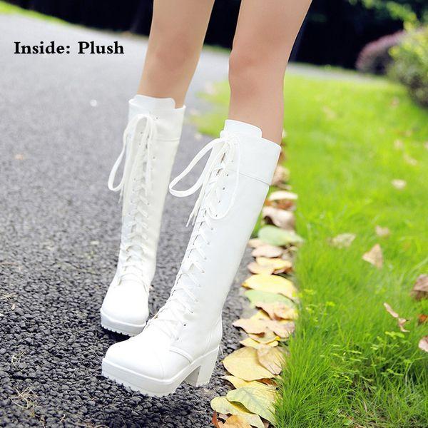 Winter-Stil weiß