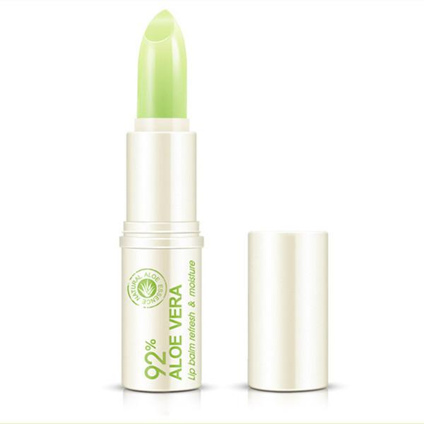 best selling DHL free BIOAQUA Face Skin Care Natural Aloe Repair Lip Balm Colorless Long Lasting Lips Skin nourishing Moisturizing Lips Balm