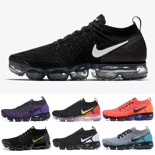 nike air max fly 1.0 2.0 Classic Off-W Fly 1.0 2.0 3.0 Knit Flagship Shoes Hombres Mujeres Triple White Black Grey Knitting Trainers Zapatillas de deporte de diseñador de moda