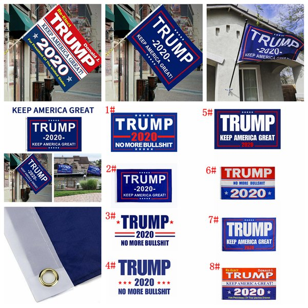 8styles Trump Banner Flag make America Again for President USA Donald Trump Election Banner Flag Donald decor Flags 150*90cm FFA3022