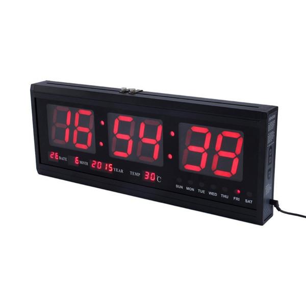Großhandel Große Anzahl Elektronische Wanduhr Digital LED Wanduhr Modernes  Design Horloge Murale Schreibtisch Tisch Küche Uhr Wohnkultur Von Pagoda,  ...