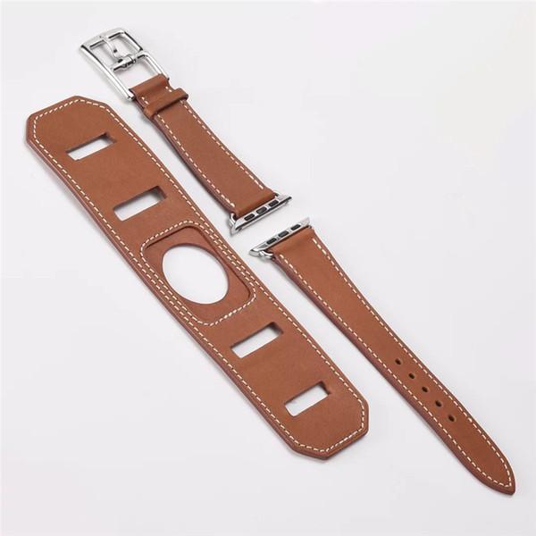 Apple için izle bantları 38mm Iwarch Bileklik için Benzersiz Tasarım ile 42mm Casual Stil Apple Watch Band Bilezik için Düzenlenebilir aksesuarları