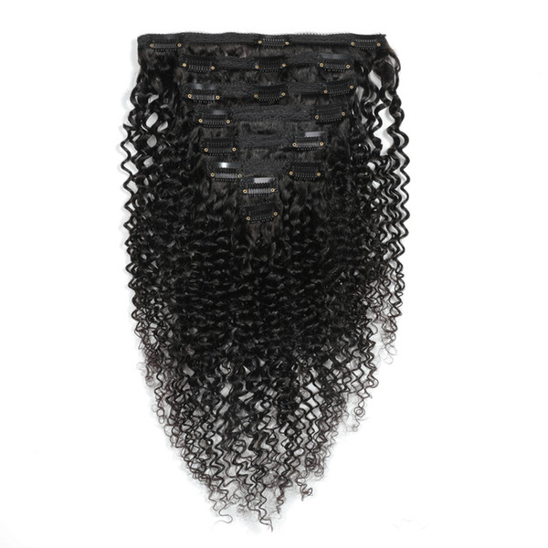 Cabelo Kinky Curly Clip