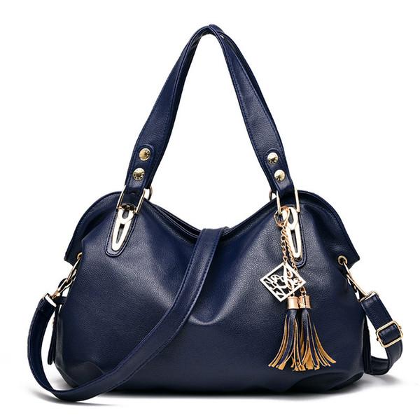 MONNET CAUTHY Sacs Femme Bureau Mesdames Concise Loisirs Mode Sac à bandoulière Noir Plein Bleu marine Couleur Marron Rose Vagabonds
