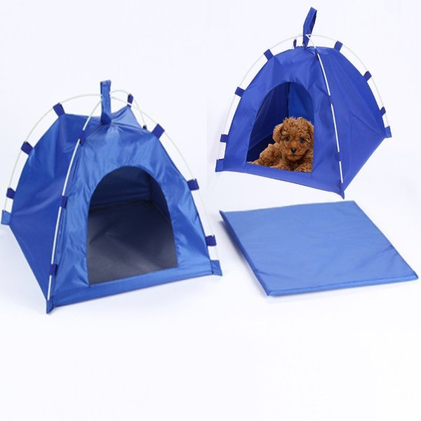 Waterproof Portable Collapsible Pet Dog Tent House Breathable Pet Cat House