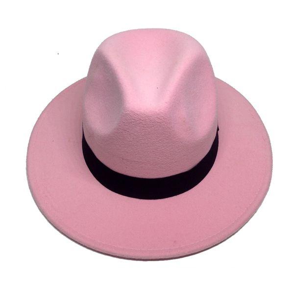 2552ab614 Retro Fedora Hats For Male Winter Felt Caps Wide Brim Panama Hat For Women  Winter Vintage Trilby Caps Sombrero De Hombre YY18017 D19011102 Wedding ...