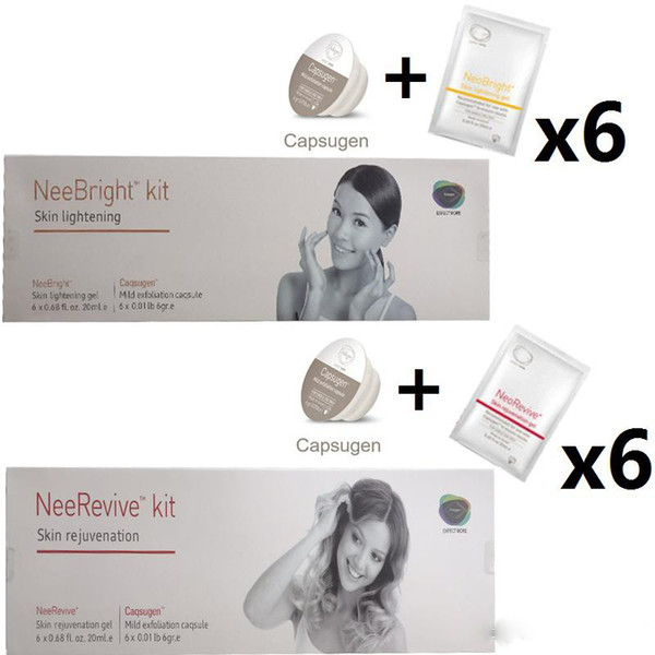 Facial Machine Exfoliation Consumable Products Neebright Neerevive Capsugen Whitening And Anti-Aging Kit Nee Revive Free Shipping