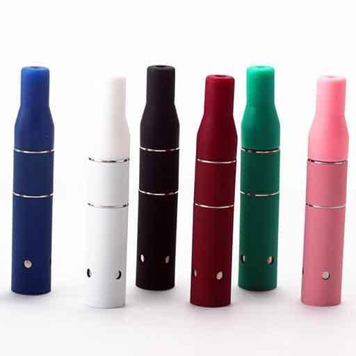 Mini Ago G5 Pen Wax Atomizer Dry Herb Vaporizer Herbal Vapor Heating Coil Vape for 510 Thread eVod eGo T Battery Dry Herb Ecigarette Vape Pe