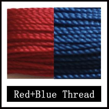 hilo azul rojo