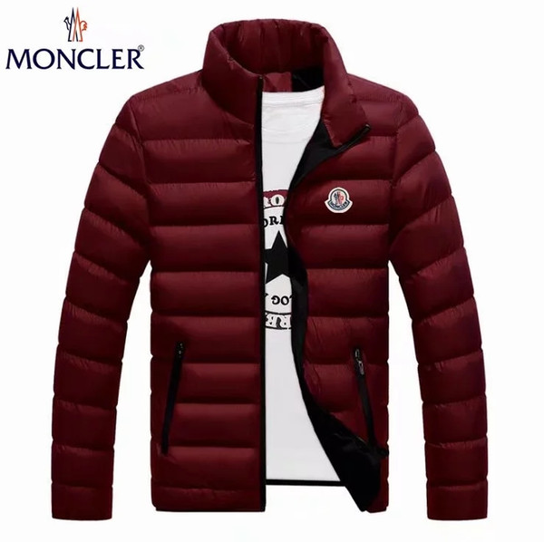 low price sales European and American style fashion mens down jacket famous Many colors Men's Down menswear Free shippin