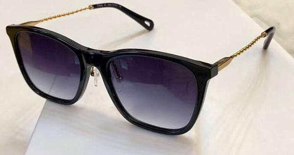 Women weave Gold Black Sunglasses 2728 Square Sun Glasses gafas de sol Top Quality New wth Box
