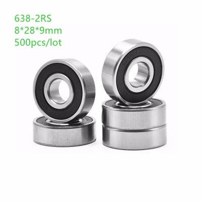 10 pieces of High Quality 638-2RS bearing  638 2RS bearings 8mm x 28mm x 9mm