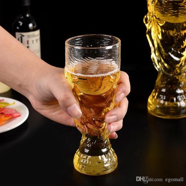 Ankunft in New World Cup Bar Glas Bunte Art und Weise DIY Weinglas unzerbrechlich klar Gummi Weinglas Folding Tasse Weingläser
