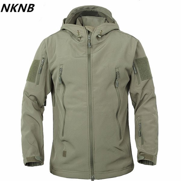 Army Camouflage Coat Tactical Jacket Men Soft Shell Waterproof Windproof Jacket Coat Plus Size 4XL Raincoat