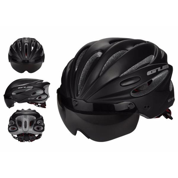 GUB Fahrradhelm MTB Mountain Rennrad Radfahren Schutzhelm Mütze Hut mit Visier Len Brille Ultraleicht Verstellbar