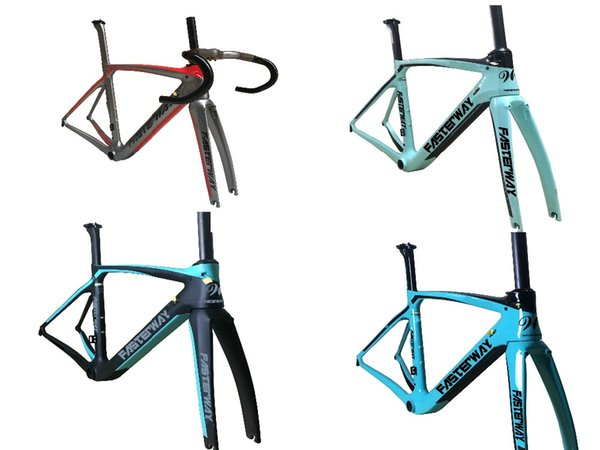 coachey taiwan made Full Toray XR4 carbon fiber bike frame Aero road bicycle frame fork seatpost UD weave