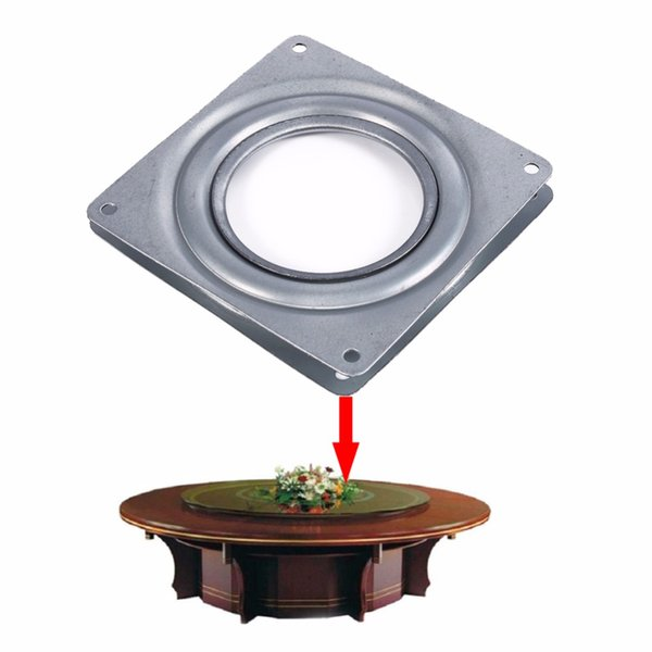 Lazy Susan Dining Table Turntable Bearing 4 inch Hotel Home Improvement Furniture Wheel Parts Industrial Rotary Table Bearing Swivel Plate