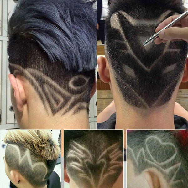 Professionale Magia Incidere Barba Forbici dei capelli Trucioli sopracciglia Rasoio Carve Pen cesoie tatuaggio barbiere parrucchiere Scissors
