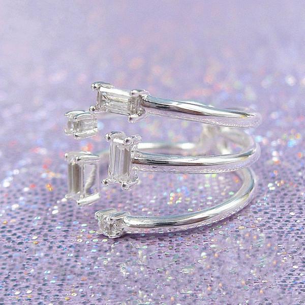 Plata esterlina 925 10 Colores Cristal radiante encanto Corazones de 20 a 40 días de entrega