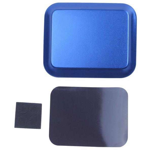 Faydalı Alüminyum alaşım Vida Tepsi için Manyetik Pad ile RC Model Telefon Araba Tamir Aracı mavi