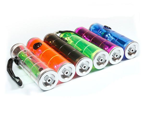Мини-дешевые красочные переносные пластиковые воды табак бонг трубы кальян акриловые кальян рука трубка для курения