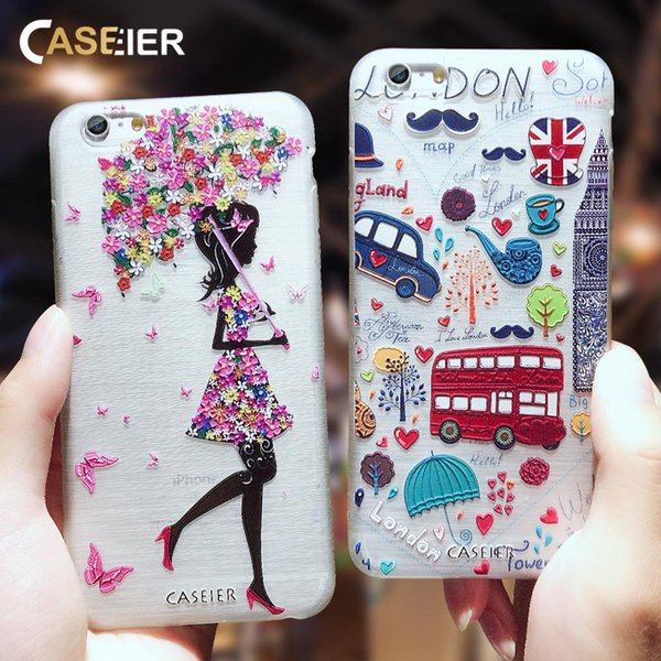 Girly Phone Cases For iPhone 5 5S SE 6 6S 7 8 Plus X XS Max XR Soft Silicone TPU Cover For iPhone 6 6S 7 8 Plus X XS MAX