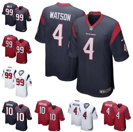 newest ab2f1 7db5a 2019 Men'S Womens Kids Youth Houston Jerseys Texans 4 Deshaun Watson Men 99  J.J. Watt 10 DeAndre Hopkins Football Jerseys From Huang881105, $15.74 | ...