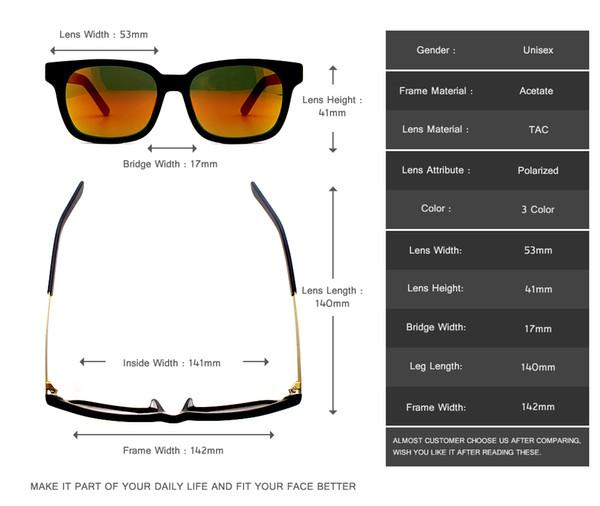 Fashion Famous Brand Design Acetate Sunglasses Men Driving Sun Glass Mirror Lens Super Thin Metal Temple Outdoor Eyewear RFT7005